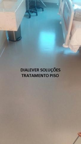 Tratamento de piso para clínicas
