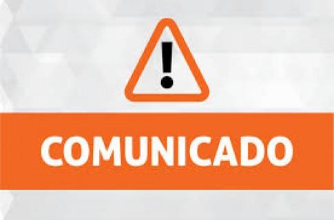 NOVO COMUNICADO - Prevenção do contágio e propagação do Coronavírus (COVID-19)