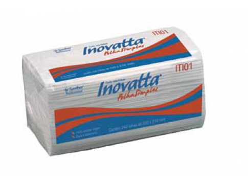 PAPEL TOALHA SANTHER INOVATTA ITI01
