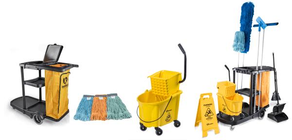 Equipamentos e acessórios para Limpeza